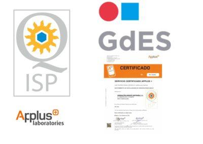 composicion logos sello de calidad gdes