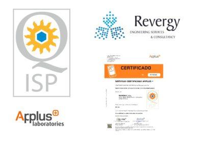 composicion logos sello de calidad revergy